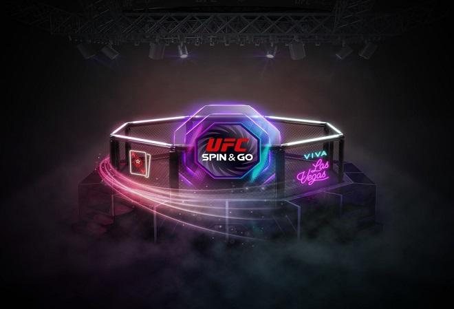 PokerStars провел ребрендинг турниров Spin and Go в рамках партнерства с UFC