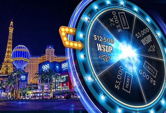 Акция WSOP Las Vegas Spinner от 888 Poker