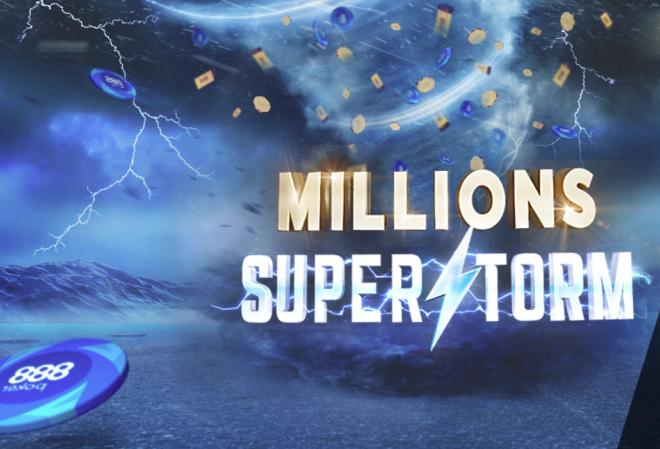 Промо-акция MILLIONS SUPERSTORM на 888 Poker