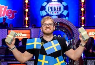 Мартин Якобсон выиграл Main Event WSOP 2014!