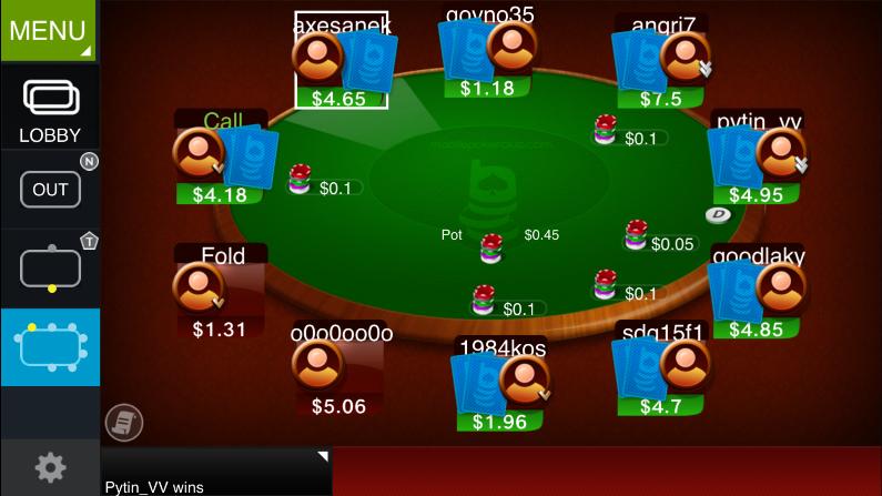 Titan Poker . Нажмите на изображение для увеличения