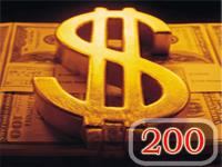 Бонус $200