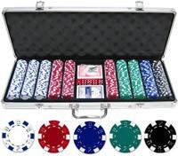 Покерный набор 500 фишек по 11.5 г без номинала